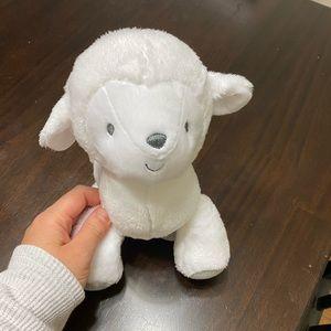Waggy lamb musical plush